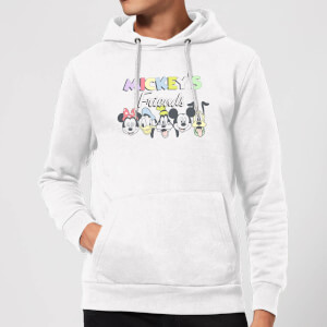 Disney Mickey's Friends Hoodie - White