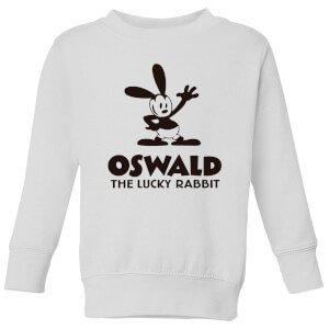 Disney Oswald The Lucky Rabbit Kids' Sweatshirt - White