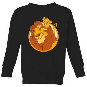 Disney Mufasa & Simba Kids' Sweatshirt - Black
