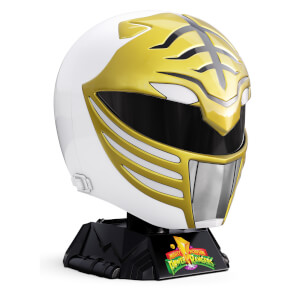 Réplica Casco Ranger blanco Power Rangers - Lightning Collection