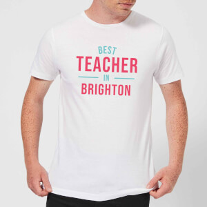 Best Teacher In Brighton Men's T-Shirt - White