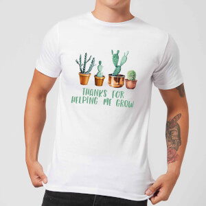 Thanks For Helping Me Grow Men's T-Shirt - White