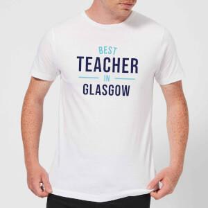 Best Teacher In Glasgow Men's T-Shirt - White