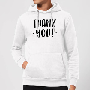 Thank You! Hoodie - White