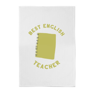 Best English Teacher Cotton Tea Towel