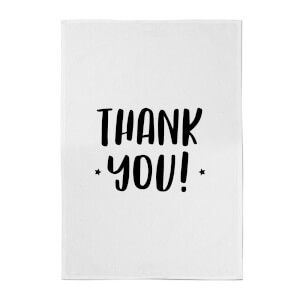 Thank You! Cotton Tea Towel