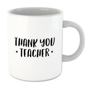 Thank You Teacher Mug
