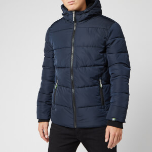 Superdry Men's Sports Puffer Jacket - Ink