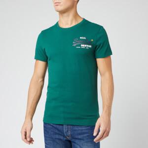 Superdry Men's Vintage Logo Racer T-Shirt - Green
