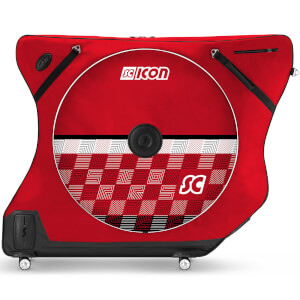 Scicon AeroComfort Road 3.0 TSA Bike Bag - Limited Edition - Checkmate - Scarlet Red