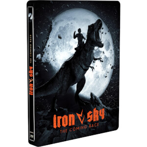 Iron Sky / Iron Sky: Coming Race (Glow in the dark) Zavvi Exclusive Steelbook