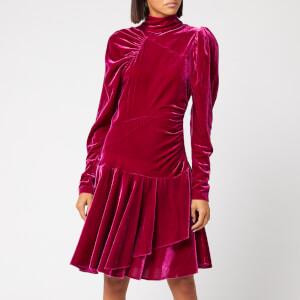 ROTATE Birger Christensen Women's Number 25 Dress - Festival Fuchsia