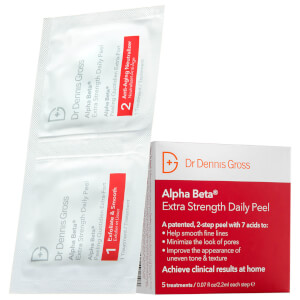 Dr Dennis Gross Skincare Alpha Beta Extra Strength Daily Peel (Pack of 30, Worth $102)