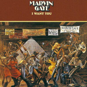 Marvin Gaye - I Want You LP