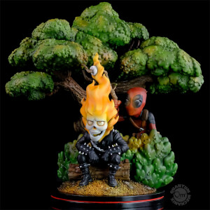 Marvel Deadpool x Ghost Rider Q-Master Diorama