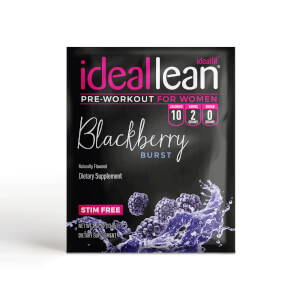 IdealLean Stim Free Pre-Workout - Blackberry - Sample