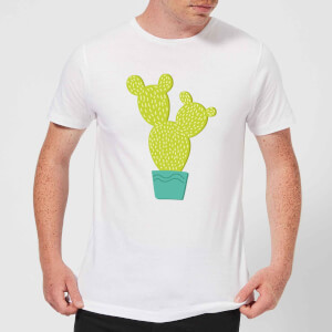 Tall Cactus Men's T-Shirt - White
