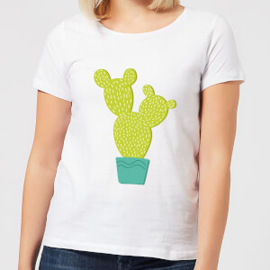 Tall Cactus Women's T-Shirt - White