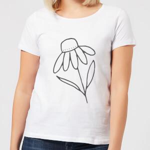 Flower Women's T-Shirt - White