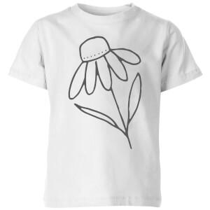 Flower Kids' T-Shirt - White