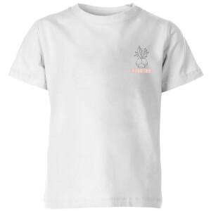 Pocket Succ It Kids' T-Shirt - White