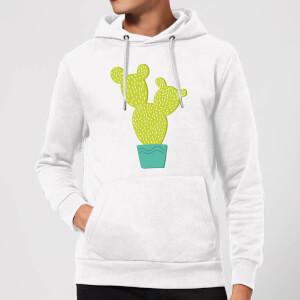 Tall Cactus Hoodie - White
