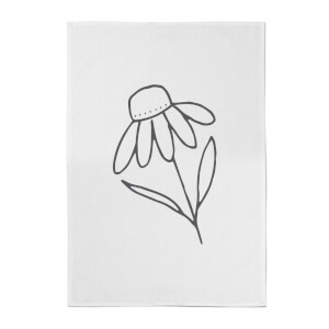Flower Cotton Tea Towel