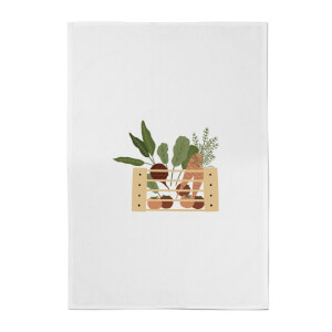 Vegetable Box Cotton Tea Towel
