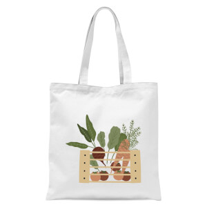 Vegetables In A Box Tote Bag - White
