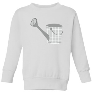 Watering Can Kids' Sweatshirt - White