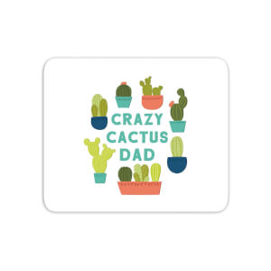 Crazy Cactus Dad Mouse Mat