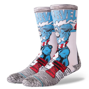 Chaussettes Stance - Marvel Captain America Comic