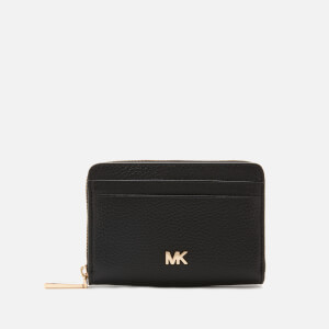 MICHAEL MICHAEL KORS Women's Mott Zip Around Coin Card Case - Black