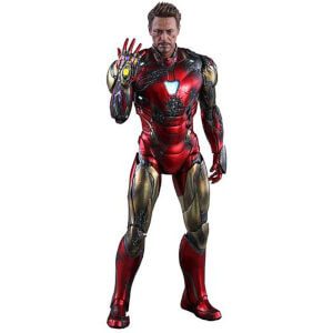 Hot Toys Avengers: Endgame MMS Diecast Action Figur 1/6 Iron Man Mark LXXXV Battle Damaged Version 32cm