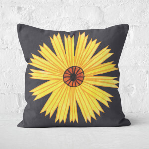 Botanical Flower Square Cushion