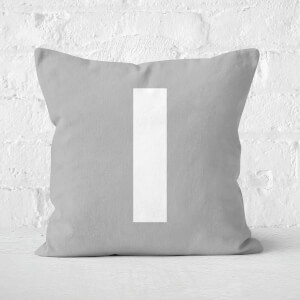 Letter I Square Cushion