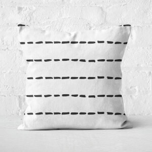 Dashes Square Cushion