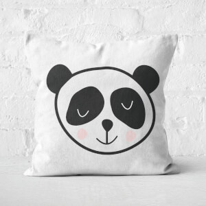 Panda Square Cushion