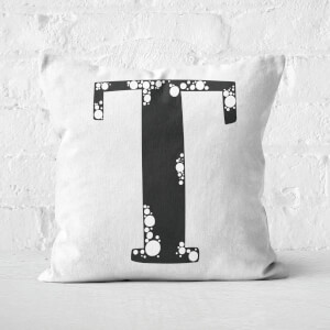 Handwritten T Square Cushion