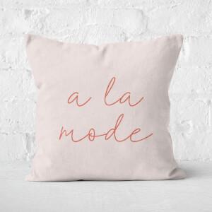 A La Mode Square Cushion