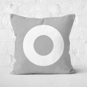 Letter O Square Cushion