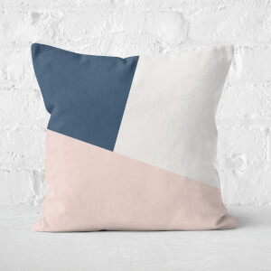 Geometric Shapes Square Cushion