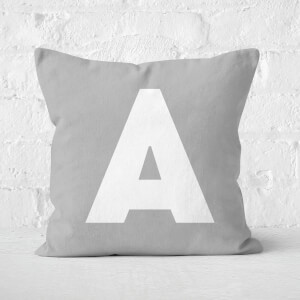 Letter A Square Cushion