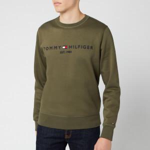 Tommy Hilfiger Men's Tommy Logo Sweatshirt - Grape Leaf
