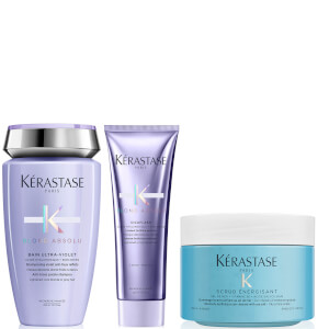 Kérastase Blond Absolu and Energising Scrub Trio 250ml