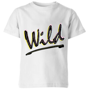Wild Kids' T-Shirt - White