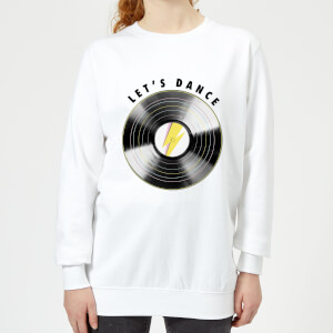 Let's Dance Women's Sweatshirt - White