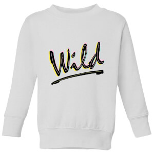 Wild Kids' Sweatshirt - White