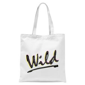 Wild Tote Bag - White