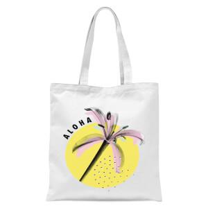 Aloha Tote Bag - White